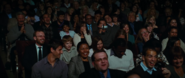 Humans Laughing during Rowley's show