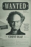 Count Olaf Wanted Poster
