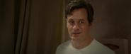 Frank Heffley in the motel bathroom