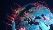 COVID-19 Pandemic globe spread