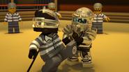 Titanium Ninja vs. Nindroid Prisoner