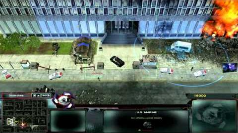 Let's Play Act of War Direct Action P 2 HD 720p