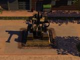 Sentry turret extended anti-tank capability