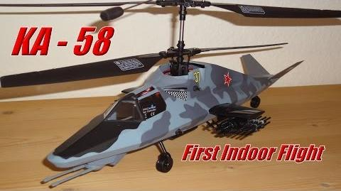 Revell Control KAMOV KA-58 Stealth Helicopter - Indoorflight