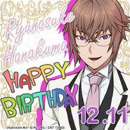 Ryunosuke Hanakuma Happy Birthday