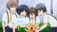Children messing with Minori as a cat