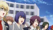 Kakeru, Rei, Ushio, Minori, and Ryunosuke singing along