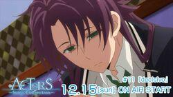 ACTORS -Songs Connection- Kakeru Episode 11 tweet on air December 15.jpg