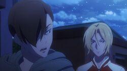 Konishi telling Ryo there are too many eyes here.jpg