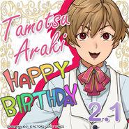 Tamotsu Araki Happy Birthday