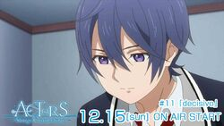 ACTORS -Songs Connection- Saku Episode 11 tweet on air December 15.jpg