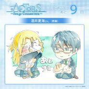 Ryo and Satsuma 9 days till Broadcasting Illustration