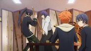 Hinata telling Saku they're usually like this