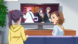 Hinata's mom telling Haruna about Hinata performing.jpg