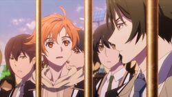 Hinata telling Rei something seems off.jpg