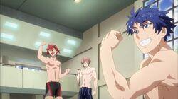 Hozumi, Itto, and Ryunosuke in the intro.jpg