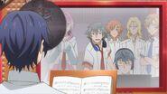 Sosuke telling Saku give it your all
