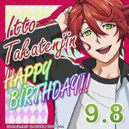 Itto Takatenjin Happy Birthday Card