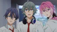 Sosuke asking Kakeru who he is
