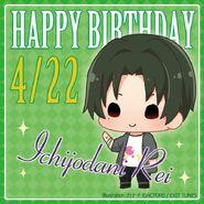 Happy Birthday Rei Ichijodani Chibi