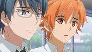 Hinata and Satsuma shocked to hear Saku declining the invitation