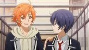 Hinata asking Saku what's wrong
