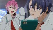 Uta telling Sosuke it's selling a little