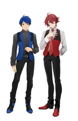 Hozumi and Itto in Deluxe Duet Edition.png