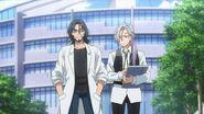 Tsukasa and Washiho walking to school