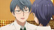 Satsuma telling Saku that Hinata told him a lot about you