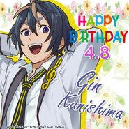 Happy Birthday Gin Kunishima