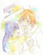 Hinata and Haruna Episode 1 Illustration