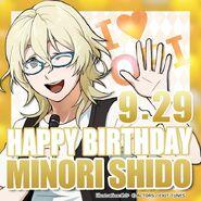 Happy Birthday Minori Shido