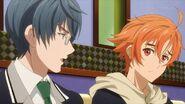 Satsuma telling Hinata I feel bad for the student council
