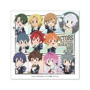 ACTORS -Songs Connection- Character Song Album Jacket Design Sticker