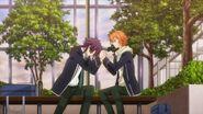 Kakeru telling Hinata anyone could have shot an amazing PV