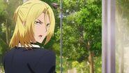 Ryo telling Hinata, Mitsuki, and Satsuma I'll go take a look in the security office