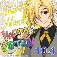 Shiro Nanao Happy Birthday