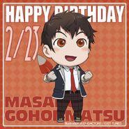Happy Birthday Masaru Gohonmatsu Chibi