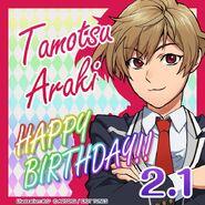 Happy Birthday Tamotsu Araki