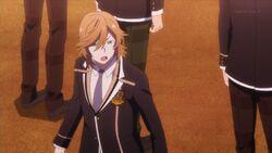 Mitsuki asking Keishi you're watching, right.jpg