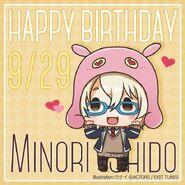 Happy Birthday Minori Shido Chibi