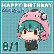 Happy Birthday Seijun Chibi