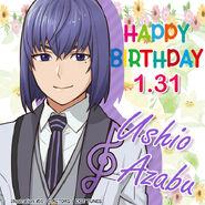 Happy Birthday Ushio Azabu 2021