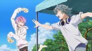 Uta teasing Sosuke with the curry