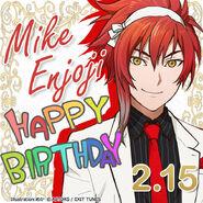 Mike Enjoji Happy Birthday