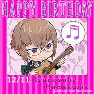 Happy Birthday Ryunosuke Hanakuma Chibi