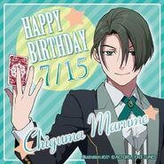 Happy Birthday Chiguma Marume