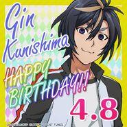 Gin Kunishima Happy Birthday Card