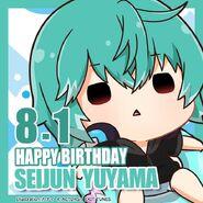 Happy Birthday Seijun Yuyama Chibi